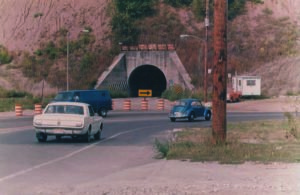 the awful tunnel detour about Mangelsen's
