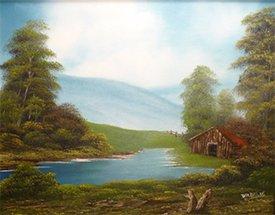 Bob Ross the Joy of Painting @ Mangelsen's