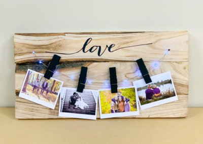 """""""Love"""" Lighted Picture Hanger"""