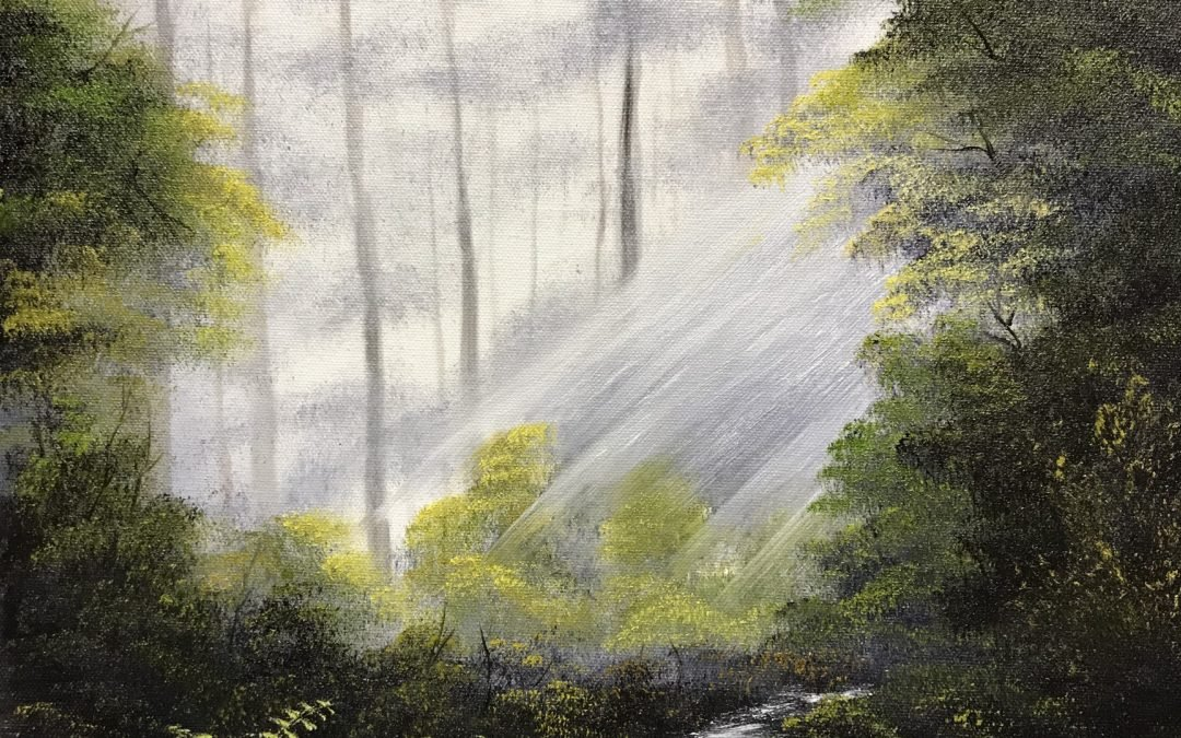 Bob Ross, The Joy of Painting with Donald R. Belik – ZOOM EDITION