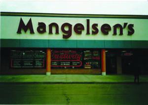 Mangelsen's store front about Mangelsen's