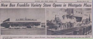 New Ben Franklin Variety Store opens about Mangelsen's