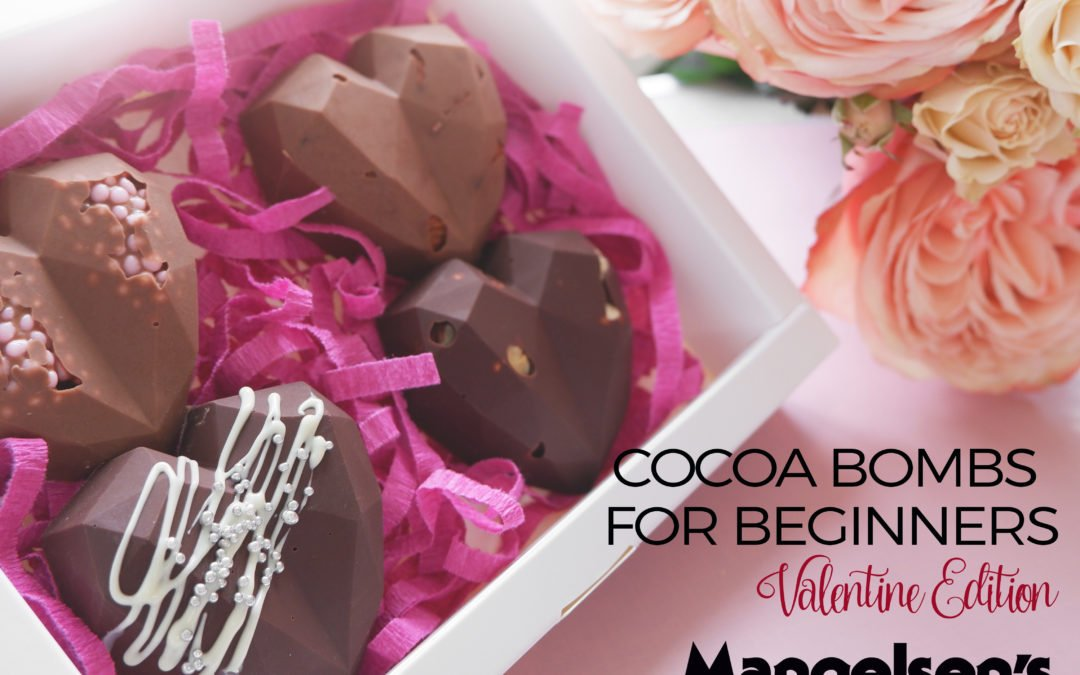 Cocoa Bombs for Beginners- Valentines Day Edition