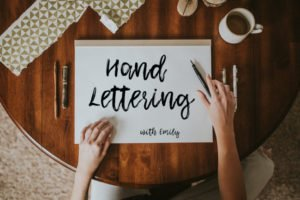 Introduction to Hand Lettering @ Mangelsen's